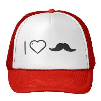 Amo mi bigote gorras