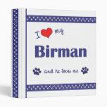 Amo mi Birman (el gato masculino)