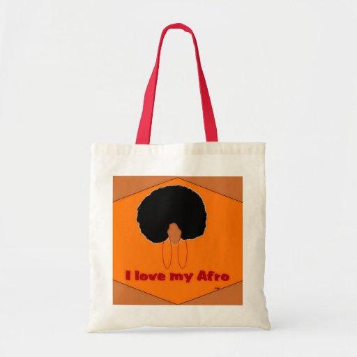 Amo mi bolso del Afro Bolsas