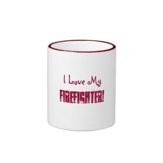 ¡Amo mi, bombero! - Taza