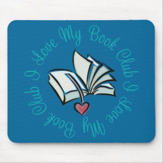 Amo mi Bookclub Mousepad