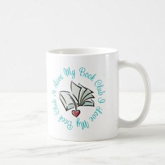 Amo mi Bookclub Taza Clásica
