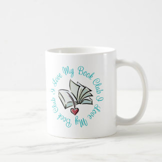 Amo mi Bookclub Tazas De Café