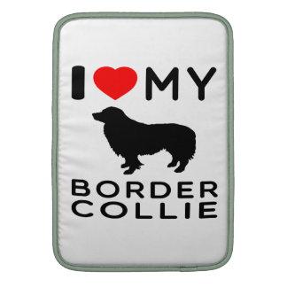Amo mi border collie fundas para macbook air