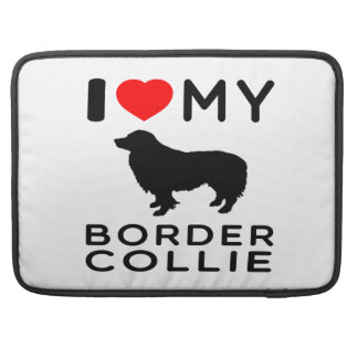 Amo mi border collie fundas macbook pro