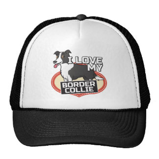 Amo mi border collie gorra