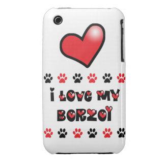 Amo mi Borzoi Funda Para iPhone 3 De Case-Mate
