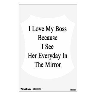 Amo mi Boss porque la veo diaria en el M Vinilo