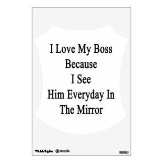 Amo mi Boss porque lo veo diario en el M Vinilo