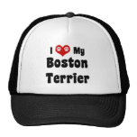 Amo mi Boston Terrier Gorro