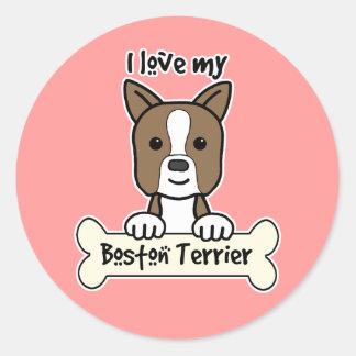 Amo mi Boston Terrier