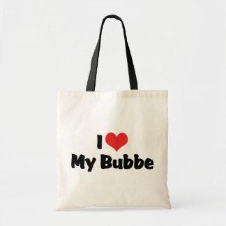 Amo mi Bubbe Bolsa Tela Barata