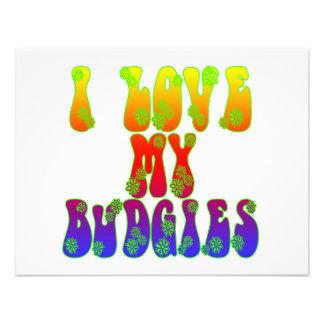 Amo mi Budgies Anuncios