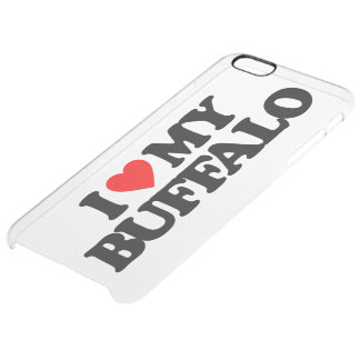 AMO MI BÚFALO FUNDA CLEARLY™ DEFLECTOR PARA iPhone 6 PLUS DE UNC