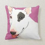 Amo mi bull terrier almohada