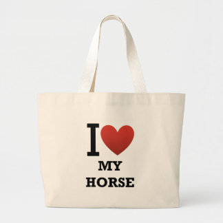 Amo mi caballo bolsa