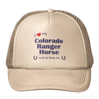 Amo mi caballo del guardabosques de Colorado (el c Gorras De Camionero