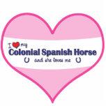 Amo mi caballo español colonial (el caballo femeni escultura fotografica