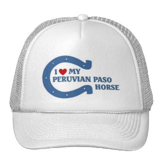 Amo mi caballo peruano de Paso Gorras De Camionero