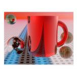 Amo mi café de la mañana tarjeta postal