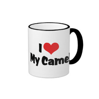 Amo mi camello taza de dos colores