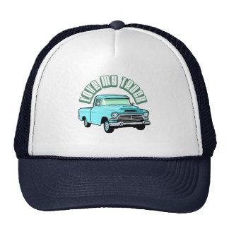 Amo mi camión - viejo, recogida azul clásica gorro