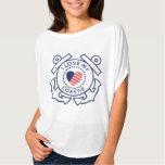Amo mi camisa de Coastie USCG