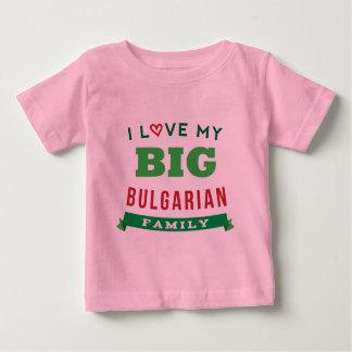 Amo mi camiseta búlgara grande de la reunión de remeras