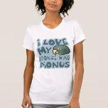 Amo mi camiseta coa alas bronce de Pionus