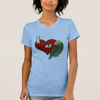 Amo mi camiseta de las señoras de DYH el Amazonas Playeras