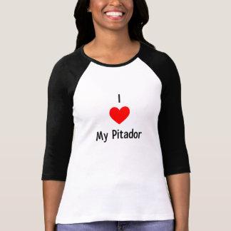 Amo mi camiseta de Pitador