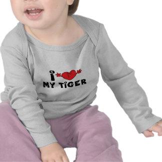 Amo mi camiseta del tigre