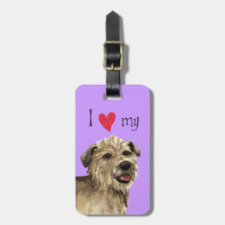 Amo mi cañada de Imaal Terrier Etiquetas De Equipaje
