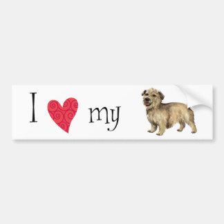 Amo mi cañada de Imaal Terrier Pegatina Para Auto