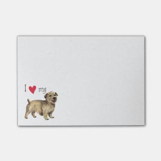 Amo mi cañada de Imaal Terrier Post-it® Notas