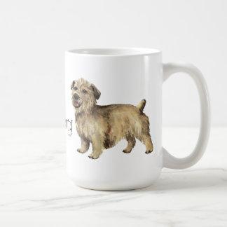 Amo mi cañada de Imaal Terrier Taza Básica Blanca