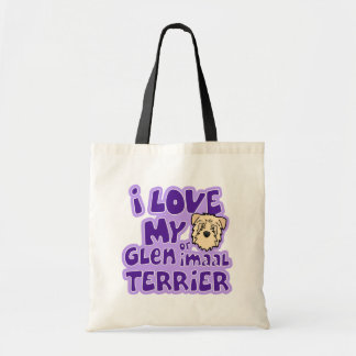 Amo mi cañada de trigo de Imaal Terrier Bolsas De Mano