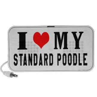 Amo mi caniche estándar iPod altavoz