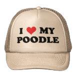 Amo mi caniche gorra