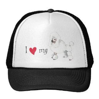 Amo mi caniche gorras de camionero