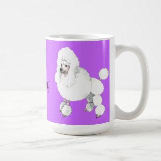 Amo mi caniche taza