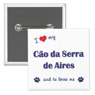 Amo mi Cao DA Serra de Aires el perro masculino Pins