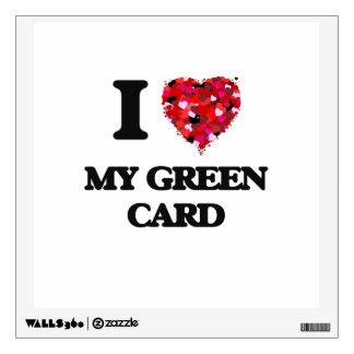 Amo mi carta verde