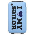Amo mi caso del iPhone 3G/3S de la marina de guerr iPhone 3 Tough Carcasa