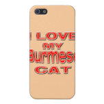 AMO MI CAT BIRMANO iPhone 5 PROTECTOR