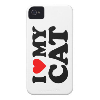 AMO MI CAT iPhone 4 CARCASAS