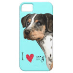Amo mi Catahoula iPhone 5 Protectores
