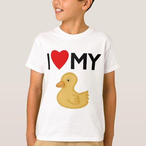 Amo mi caucho Ducky Playera