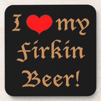 ¡Amo mi cerveza del cuñete! Prácticos de costa Posavasos