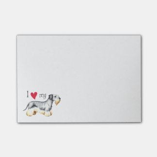 Amo mi Cesky Terrier Post-it® Notas